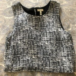 Joie crop top boxy shirt size medium